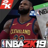 微软 Microsoft Xbox One S 1TB NBA2019 套装主机