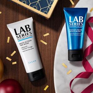 Lab Series朗仕官网年终全场男士护肤满$75立减$15