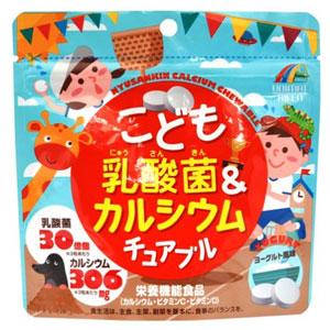 Unimatriken 儿童酸奶味乳酸菌维生素钙片糖 90粒