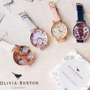 Mybag现有精选Olivia Burton手表配饰低至4折促销
