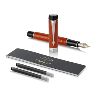 Parker派克 Duofold Centennial世纪经典系列(大豆腐) 18K F尖 钢笔