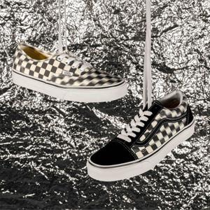 HBX官网上新多款Vans棋盘格潮鞋