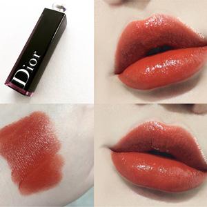 补货!Dior Addict Lacquer迪奥瘾诱漆光唇釉 740club色