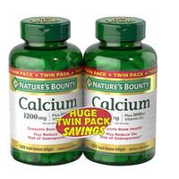 新低!Natures Bounty自然之宝 液体钙+维生素D软胶囊 120粒*2瓶