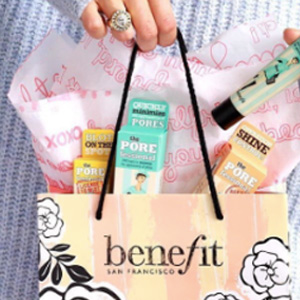 Benefit Cosmetics贝玲妃英国官网精选护肤产品额外9折促销