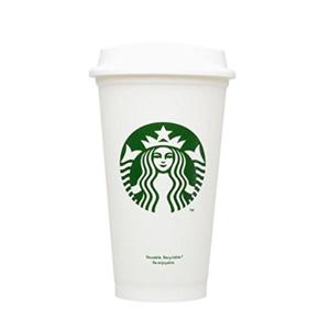 Starbucks星巴克 可重复使用的旅行咖啡杯 453ml