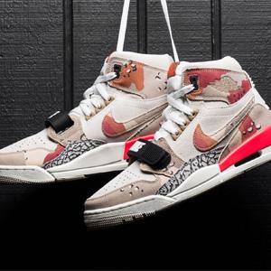 """码全!Jordan Legacy 312""""Desert Camo""""男款运动鞋"""