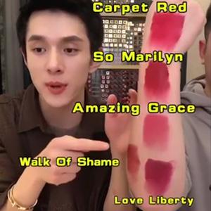 Charlotte Tilbury哑光唇膏Carpet Red/Love Liberty