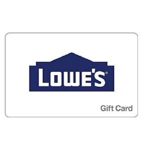 Newegg有美国Lowe's百货$50 Gift Card礼品卡