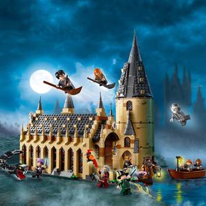 补货!LEGO乐高·哈利波特系列霍格沃茨大礼堂75954