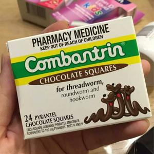 Combantrin 驱虫 杀蛔虫巧克力块 24块