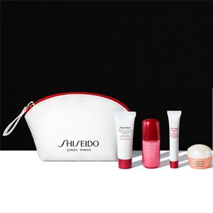 Shiseido资生堂官网满$100送价值$73的4件套礼包