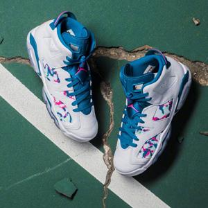 """3码有货!Air Jordan 6 GS """"Green Abyss""""篮球鞋 女中童款"""