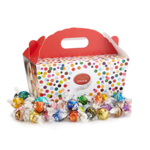 Lindt瑞士莲 150颗自选口味松露巧克力礼盒包装