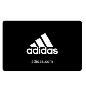 买$50 adidas Gift Card礼品卡送$15  adidas礼卡