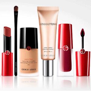 Giorgio Armani Beauty阿玛尼加拿大官网全场彩妆额外85折促销