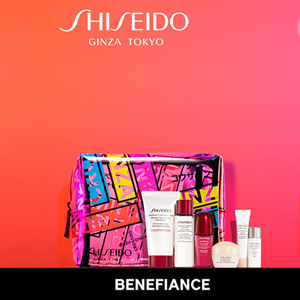 Dillards百货购Shiseido资生堂满$75送7件套礼包