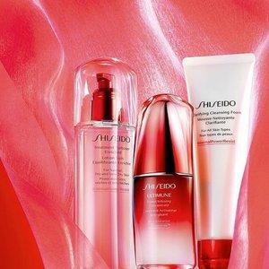 Dillard's百货有Shiseido护肤美妆最高价值$142赠品