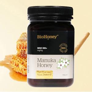 2件免邮!BioHoney 麦卢卡蜂蜜 MGO100+ 500g