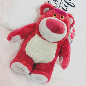 新低!Disney迪斯尼12英寸草莓熊