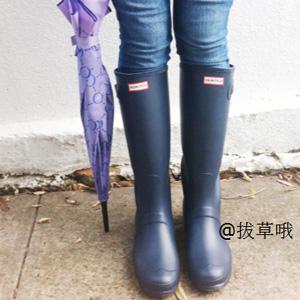 Rue La La网站现有精选Hunter雨鞋低至$55.99促销