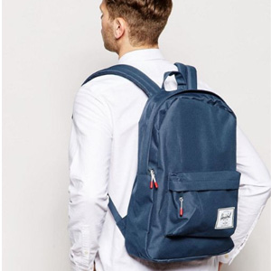 Herschel Supply Co. 经典款中性双肩背包 藏青色