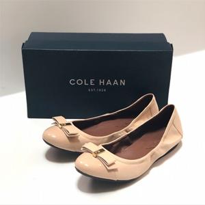 Cole HaanElsie Bow Ballet蝴蝶结平底鞋(平价菲拉格慕)