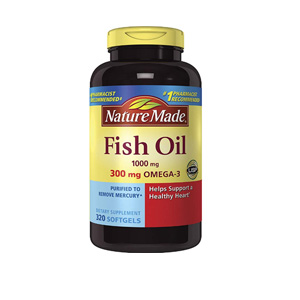 Nature Made Omega-3 深海鱼油胶囊 1200mg 320粒