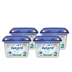 小降!Aptamil 爱他美 Profutura 白金版婴儿全新配方奶粉 2段 6月+ 800g*4罐