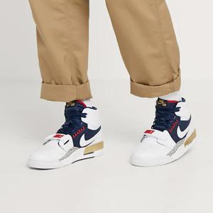 Air Jordan乔丹 Legacy 312大童款篮球鞋白棕美国队