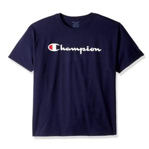 Champion冠军经典针织印花T恤