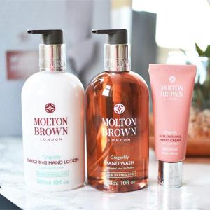 Molton Brown摩顿布朗美国官网精选沐浴商品7折促销