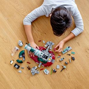 LEGO 乐高20周年纪念套装 赏金猎人飞船 (75243)