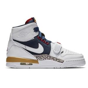 Jordan Legacy 312白棕美国队大童款球鞋