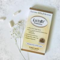 California Gold Nutrition双叉乳杆菌益生菌60粒素食胶囊