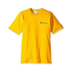 新品 Champion 男式 T恤 金黑2色可选