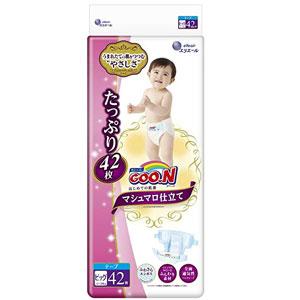 GOO.N大王 棉花糖纸尿裤 XL42*3件 (12~20kg)