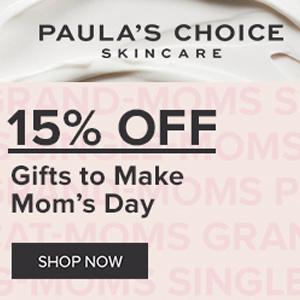 Paula's Choice宝拉珍选官网母亲节精选护肤8.5折促销