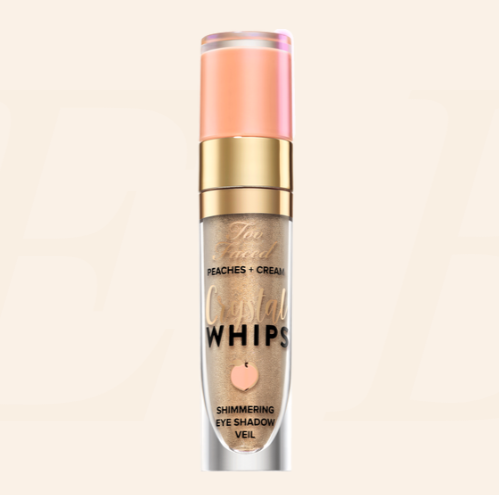 TOO FACED Peaches & Cream Crystal Whips Long-Wearing Shimmering Eye Shadow Veil亮闪液体眼影