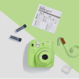 Fujifilm富士instax mini 9拍立得相机 青柠绿