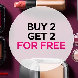Kiko英国官网全场商品买2送2促销+满£30减£5促销