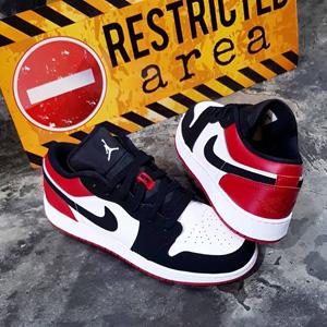 Air Jordan 1AJ1 黑脚趾 低帮男款篮球鞋