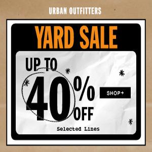 Urban Outfitters英国站现有精选单品低至6折促销