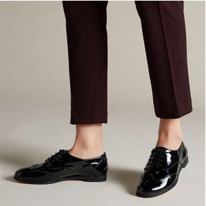 Clarks其乐 Andora Trick 女士真皮系带牛津鞋