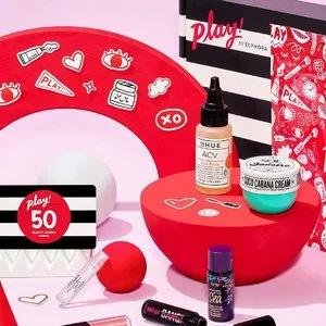 Sephora美国全场play! box美妆盒子一律$10