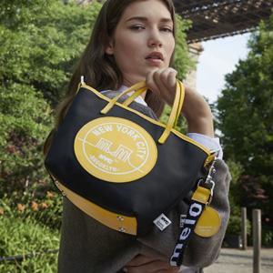 Meli melo官网有NYC系列包包、配饰低至3折促销