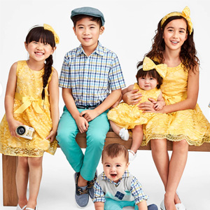 The Children's Place网站全场童装2-2.5折促销