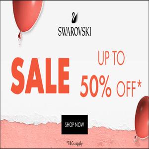 Swarovski英国官网夏季大促精选商品5折促销