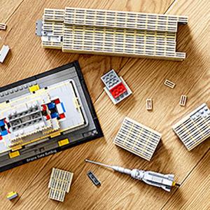 LEGO 乐高 建筑系列 帝国大厦(21046)
