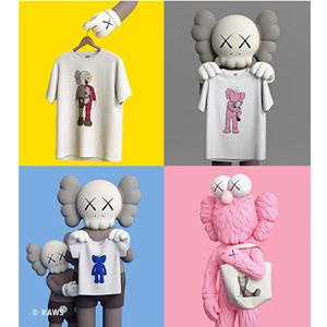 UNIQLO优衣库 KAWS X UNIQLO联名 第三弹潮牌短袖T恤包包